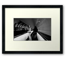 The Man in White Framed Print