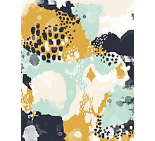 Tinsley - Modern abstract painting in bold, fresh colors Photographic Print