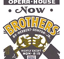 Opera House Bros Art by vintageroyale
