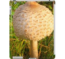 White Toadstool 4 iPad Case/Skin