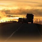 Driving into a New Day II by karina5