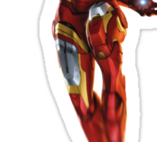 Iron Man in Flight Sticker