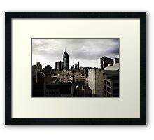 Melbourne buildings Framed Print