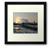 Wavebreak #1 Framed Print