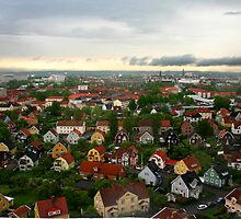 View over Orebro by Paige
