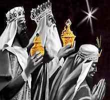 ♚ ☆ Gaspar, Melchior, and Balthasar,The Three Wise Men Chirstmas Throw Pillow & Tote Bag ☆♚ by ✿✿ Bonita ✿✿ ђєℓℓσ