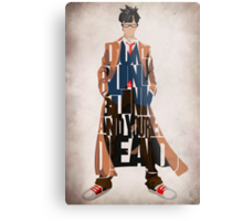 Tenth Doctor Metal Print