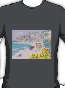 A view of Cefalu' T-Shirt
