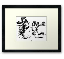 Krazy Kat in Dance Framed Print