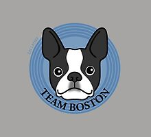 Team Boston - Terrier Puppy Dog  by zoel