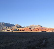 Sunset at Red Rock Canyon, Las Vegas by Tanyamcaleer