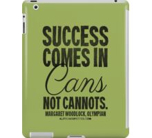 Canned Success Black Text T-shirts & Homewares iPad Case/Skin