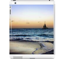 Sailng Through the Sunset iPad Case/Skin