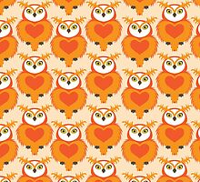 OWL Cute Heart keeper  by Kimazo