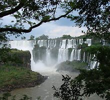 Iguasu Falls , Brazil by Edward Lipman