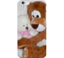 A cuddle before bedtime iPhone Case/Skin