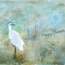 "Seascape ""Happy Chanukah"" ~ Greeting Card by Susan Werby"