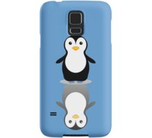 LONELY PENGUIN REFLECTING Samsung Galaxy Case/Skin