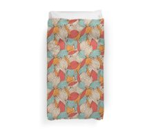 Romantic leaves Duvet Cover