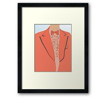Lloyd's monkey suit Framed Print