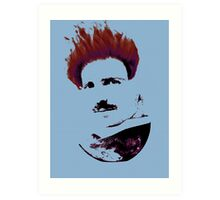Nicola Tesla Punk Tea Art Print