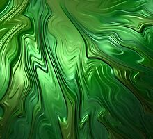 Emerald Flow by John Edwards