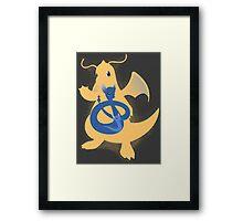 Wrath of the Dragon Framed Print