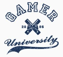Gamer University by ollieshirra