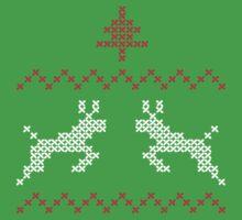 Knit design Christmas by Richard Eijkenbroek