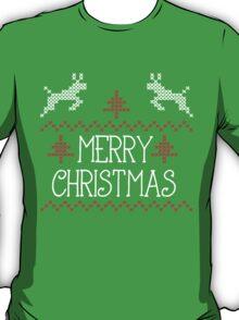 Merry Christmas knit design T-Shirt