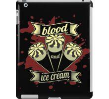 Blood & Ice Cream - Variant iPad Case/Skin