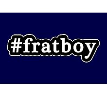 Frat Boy - Hashtag - Black & White Photographic Print