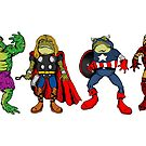 TOADVENGERS ASSEMBLE! by ZugArt