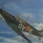 Spitfire in flight by heavenscent