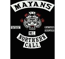 Mayans Biker Gang Photographic Print