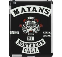 Mayans Biker Gang iPad Case/Skin