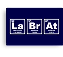 Lab Rat - Periodic Table Canvas Print