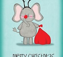 Rudolph the Elephant by madebykale