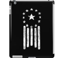 Old World America Flag [WHITE] iPad Case/Skin