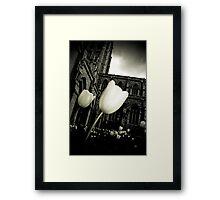 Lightness From Darkness Framed Print