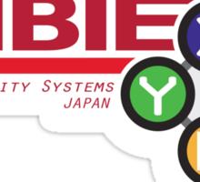 ZABIE Security Systems - JAPAN Sticker
