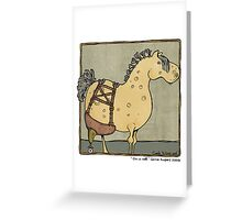 On a roll Greeting Card