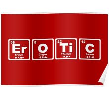 Erotic - Periodic Table Poster