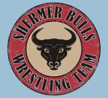 Shermer Bulls Wrestling Team by GritFX