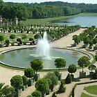Gardens- Palace of Versailles by Erika Benoit