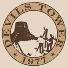 Devils Tower, 1977 by GritFX