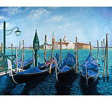 Gondolas Di San Marco Photographic Print