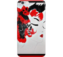 Funky Geisha Girl iPhone Case/Skin