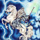Gandalf & Shadowfax by Penny Edwardes