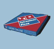 Tetrominos Pizza Box Kids Clothes